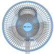 Installation outdoor rechargeable fan cordless fan USB small fan desktop fan small fan 2909 blue