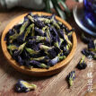 Organic Butterfly Pea Flower Dried Clitoria Ternatea Natural Blue Dye Herbal Tea