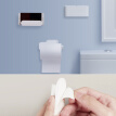 Xiaomi Wash Set 5 in 1 Washroom Wall Attachment Tooth Brush Soap Bathroom Paper Toilet Roll Holder Organizers Box Phone Shelf