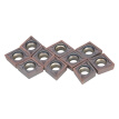 10pcs/box CCMT09T304 VP15TF Carbide Inserts CCMT 09 T3 / CCMT32.51 Insert Lathe CNC Blades Milling Turning Tool