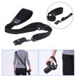 Andoer Professional Rapid Quick Release Camera Shoulder Sling Neck Wrist Strap for Canon Nikon Sony DSLR ILDC DV Outdoor Shooting