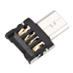 Ultra Mini Micro USB 5pin OTG Adapter Connector for Cellphone/Tablet/USB Cable/Flash Disk