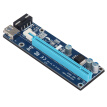 VER006S 0.6M Стабильный PCI-E Riser Card PCI E USB 3.0 1x до 16x Графический Express Card Riser Extender для Bitcoin Mining Miner Machine