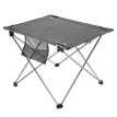 Outdoor Foldable Camping Picnic Tables Portable Compact Lightweight Folding Roll-up Table with 2 Folding Chairs Stools for Travel