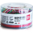 Deli 0038 Paper Clips, Assorted Colors, 29mm, 60pcs