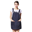 Jing Qi radiation clothing maternity clothing radiation clothing radiator dress skirt coat four seasons navy blue L code jc8383