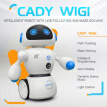 JJR/C R6 CADY WIGI Intelligent Robot Remote Control Programmable Line-following Maze-solving Music Dancing RC Toy Kids Gift