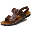 Men's summer sandals casual sandals and slippers men beach sandals lazy breathable shoes