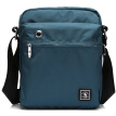 St. Paul's men's bag shoulder bag men's Messenger bag casual canvas bag waterproof oblique bag blue