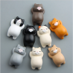 1PCS Lovely Creative Cute Animal Wooden Fridge Magnet Sticker Refrigerator Toys