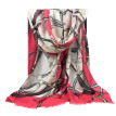 Miss Bao Shengxiang wool scarf chain printing large shawl autumn and winter warm extended collar w9911 classic belt