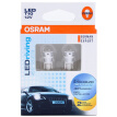 OSRAM W5W / T10 LED Headlight Automotive Light Bulb LED Bulb LED Day Light 2880SW Lens [6700K White 12V1W] (2 sticks)