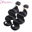 Brazilian Virgin Hair Body Wave With Closure 3 Bundles Brazilian Body Wave With Closure Fairgreat  Hair Products Human Hair Weave