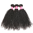 Bling Hair Brazilian Virgin Hair Kinky Curly 3 Bundles 7A Grade 100% Unprocessed Human Hair Weave