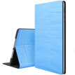 BIAZE Apple iPad Air2 / air1 Корпус iPad5 / 6 Корпус планшетного ПК Anti-Wrestling All-Envelope Smart Sleeping Leather Case Деревянная серия PB21-Sky Blue
