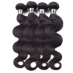 Amazing Star Malaysian Virgin Hair Body Wave 4 Bundles Body Wave Human Hair Extensions Soft and Bouncy Hair Bundles Natural Color