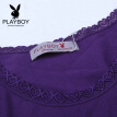 [Jingdong supermarket] Playboy (PLAYBOY) 7252 Body warm underwear women's suit body clothing autumn and winter women's body sculpting warm suit violet