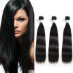Hight Quality Straight Brazilian Hair Extensions Deal 3pc/lot Natural Color Human Hair 8-28inch Brazilain Human Hair Weaves