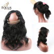 360 Lace Frontal With Bundles Peruvian Body Wave Virgin Hair 4Pcs Lot Human Hair Wefts Circle 360 Lace Band With Baby Hair