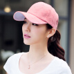[Jingdong supermarket] Lan Shiyu LANSHIYU M0230 Korean baseball cap female spring and summer shade duck cap deep pink