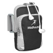 WELLHOUSE arm bag mobile phone bag running bag men and women outdoor sports arm sets riding wristband black L