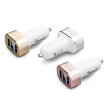 SCUD Dual USB Car Charger Mobile phone car-charger device for iPhone 7 Samsung Xiaomi Car Phone Charger with LED SC-622S