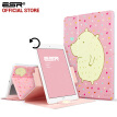 For iPad mini 4 case, ESR 360 Degree Rotating PU Leather Auto Wake up Function Cute Cartoon Smart Cover Case for iPad mini 4