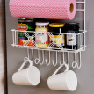 Ou Ruizhe shelf multi-function large-capacity refrigerator side wall rack nail-free suction cup storage rack cabinet side kitchen utensils condiment cup cupboards finishing classic
