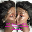 Short Wavy Lace Front Wig Glueless Wavy Lace Wig Body Wave Brazilian Human Hair Wigs with Baby Hair