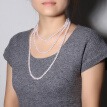 Demi jewelry love light freshwater pearl sweater chain long necklace 7-8mm160cm