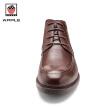 APPLE 2017men's dress shoes business Genuine Leather  high quality flat shoes for mens