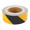 Interesting black and white twill twill width 5cm long 45.7 meters safe area warning line wall paste floor logo reflective film warning tape