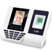 (Comet) FZ03 face recognition attendance machine free software easy to use card clock face recognition + fingerprint recognition + password verification triple smart punch card machine
