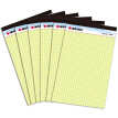 KAISA V-00270 Legalpad American A4 Yellow Paper | 5 x 5mm (with tape) 8.5