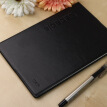 Morning light (M & G) APYLL488 office simple B5 leather leather surface diary notebook 10 pages black