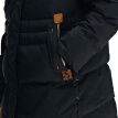 Pierre Cardin 23C3630 Women's fashion raccoon hair in the long paragraph down jacket black M (165)