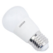 OSRAM (OSRAM) LED bulb small ball bubble 3.3W 6500k E27 large mouth light color dual support