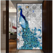 YGS-105 DIY 5D Diamonds Embroidery Diamond Mosaic New Peacock Soul Love Round Diamond Painting Cross Stitch Kits Home Decoration