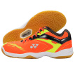 YNEX YONEX badminton shoes YY men's shoes light and breathable breathable 400CR-005 orange 45 yards
