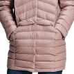 Pierre cardin (pierre cardin) 23C3621 female models fashion collar collar long section Slim down jacket pink M (165)