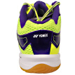 YNEX YONEX badminton shoes YY men and women shoes professional wear non-slip SHB-200CR purple / yellow 45 yards