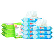 gb good boy ocean moist baby hygiene wipes 80 tablets * 8 packs + hand wipes 25 tablets * 4 packs