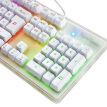 ViewSonic KU310 mechanical feel the game keyboard rainbow version of the RGB rainbow 19 key no red