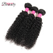Museladybeauty Brazilian Kinky Curly Virgin Hair 3 Bundles Afro Kinky Curly Hair Brazilian Virgin Hair Unprocessed Curly Weave Hum
