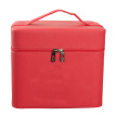 Jinghuisi Chuang JH0151 large-capacity cosmetic bag wash bag cosmetic case portable cosmetic case storage bag jewelry box female red double layer