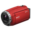 Sony (HD) HDR-CX680 HD digital camera 5-axis anti-shake 30 times optical zoom (red)