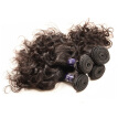 Brazilian Hair Weaving Water Wave 4 Bundles Brazilian Remy Hair Weave Brazilian Virgin Human Hair Bundle Natural Black Color