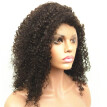 N.L.W. Malaysian virgin human hair Lace front wigs Kinky Curly Glueless wigs for black women