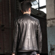 Men's leather jacket long sleeve autumn witer clothing genuine sheepskin coat real leather the newest style