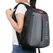 "SWISSGEAR Shoulder Bag Waterproof Notebook Shoulder Computer Bag 14.6 ""Men and Women Student Bag Fashion Casual Travel Bag Backpack SA-7319 Gray"